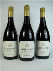 Sale 8335W - Lot 630 - 3x 2009 Moss Wood Moss Wood Vineyard Pinot Noir, Margaret River