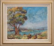 Sale 8411A - Lot 5092 - B. Grunstein (XX) - Harbour View 40 x 50cm