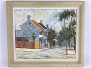 Sale 8607R - Lot 68 - John Marrington - Oil on Board (37 x 44cm)