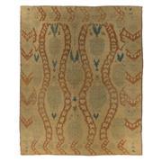 Sale 8870C - Lot 11 - Turkey Vintage Oushak Carpet in Handspun Wool, 300x245cm