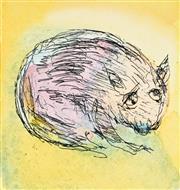 Sale 8930A - Lot 5030 - David Boyd (1924 - 2011) - The Wombat 9 x 8 cm (image size) 55.5 x 38 cm (sheet size)