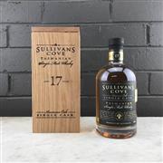 Sale 9017W - Lot 11 - Sullivans Cove Single Cask American Oak 17YO Single Malt Tasmanian Whisky - barrel no. HH0317, bottle no. 138/187, filled on 23/05...