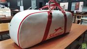 Sale 8395 - Lot 1021 - Slazenger Red & White Sports Bag