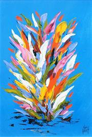 Sale 8538 - Lot 586 - Kym Hart (1965 - ) - Floral Study 44 x 28.5cm