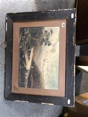 Sale 8865 - Lot 2070 - T Peerless, New Zealand Highland Scene, oil on board (AF) -