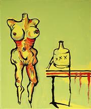 Sale 8930A - Lot 5002 - Adam Cullen (1965 - 2012) - Untitled, 2011 30.5 x 25.5 cm (frame: 30.5 x 25.5 x 4 cm)
