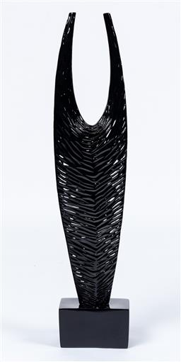 Sale 9130S - Lot 44 - Rovan, Chela fiberglass sculptural figure total Height 85cm