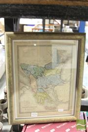 Sale 8468 - Lot 2078 - Antiquarian Hand Coloured Map