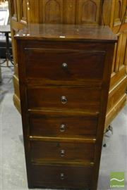 Sale 8472 - Lot 1067 - Modern Chest of 5 Drawers
