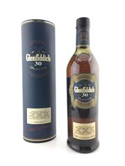 Sale 8571 - Lot 738A - 1x Glenfiddich 30YO Single Malt Scotch Whisky - 470% ABV, 700ml in canister