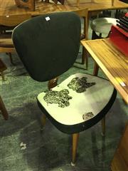 Sale 8643 - Lot 1063 - 1950s Australian Coachwood Chair