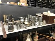 Sale 8819 - Lot 2530 - Collection of Plated & Pewterwares incl John Somers