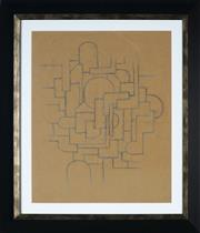 Sale 8961 - Lot 2002 - Desiderius Orban (1884 - 1986) - Untitled (Abstract) 42.5 x 33.5 cm (frame: 59 x 50 x 3 cm)