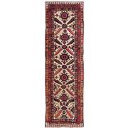 Sale 8913H - Lot 2 - Antique Persian/Kurdish Runner, Circa 1920, 345x105, Handspun Wool