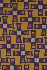 Sale 8980A - Lot 5073 - Una Foster (1912 - 1996) ( 2 works) - Untitled (Graphics) 18 x 12.5 cm (sheet: 27 x 21 cm); 18.5 x 12 cm (sheet: 24 x 18.5 cm)