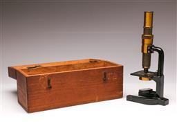 Sale 9104 - Lot 14 - Broadhurst Optical Microscope