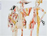 Sale 8492 - Lot 600 - Nils Burwitz (1940 - ) - Untitled, 1971 29.5 x 38.5cm