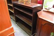 Sale 8489 - Lot 1053 - Timber Open Bookshelf