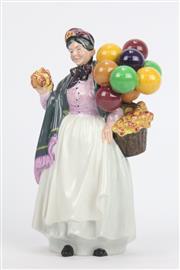 Sale 8654 - Lot 24 - Royal Doulton Biddy Pennyfarthing Figure