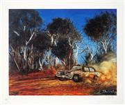 Sale 8941 - Lot 2002 - Kevin Charles (Pro) Hart (1928 - 2006) - Symonds Steel 46.5 x 55.5 cm