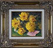 Sale 8411A - Lot 5003 - John Downton (1939 - ) - Roses for You 19.5 x 24.5cm