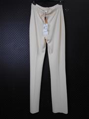Sale 8514H - Lot 80 - Stizzoli Italy Cream Woolen Pants - UK size 10