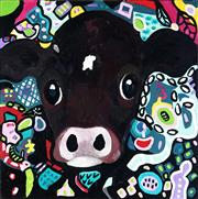 Sale 9047A - Lot 5067 - Eddi Kewley - Mesmerised 51 x 51 cm