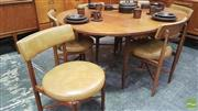 Sale 8383 - Lot 1094 - G-Plan Teak Table and Six Chairs