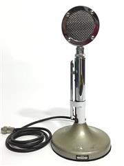 Sale 8600A - Lot 8 - Vintage Astatic microphone, H 30cm.