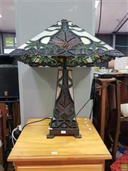 Sale 8629 - Lot 1067 - Lead Light Lamp