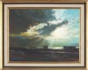 Sale 8838A - Lot 5199 - David Perks - Storm Clouds, Southern Spain, 1972 29 x 39cm