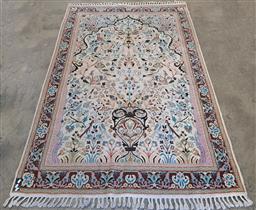 Sale 9146 - Lot 1086 - Cream tone woollen rug (270 x 170cm)