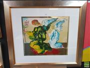 Sale 8449 - Lot 2031 - Salvador Dali Print (1904 - 1989) After. - Untitled 46 x 53cm