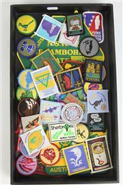 Sale 8396C - Lot 44 - Various Vintage Boy Scout Patches & Australian Patches