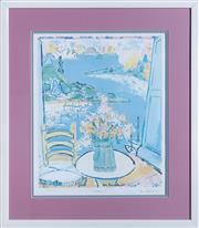 Sale 8593A - Lot 55 - Two Eva Hannah lithographs, Sydney 1 & Sydney 2, editions; 212/350 & 186/350, each 42 x 35cm