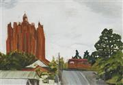 Sale 8708A - Lot 563 - Don Heron (1970 - ) - Red Hill Church, 1992 29.5 x 40.5cm