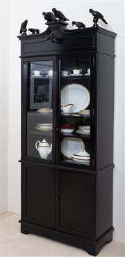 Sale 8782A - Lot 138 - A Simone cabinet by Oly for Coco Republic W x D x Ht:100cm x 49cm x 235cm