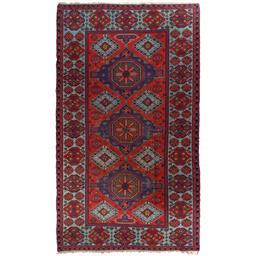 Sale 9090C - Lot 9 - Antique Caucasian Soumak Carpet, Circa 1940, 205x360cm, Handspun Wool