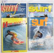 Sale 8431B - Lot 40 - How To Surf (Magazine), The complete Guide to Surfing, Tracks Publication 1983 and How To Surf (Magazine), The Complete Guide to Sur...