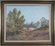 Sale 8716 - Lot 2060 - James Casey - Open Cut Buchannan 60 x 75cm