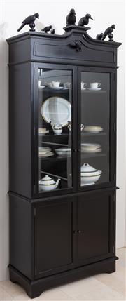 Sale 8782A - Lot 139 - A Simone cabinet by Oly for Coco Republic W x D x Ht:100cm x 49cm x 235cm