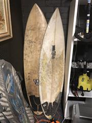 Sale 8789 - Lot 2207 - 2 Surfboards