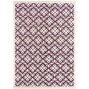 Sale 8870C - Lot 19 - India Taj Damask Design Rug in Handspun Wool & Bamboo Silk 178x250cm