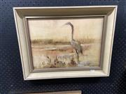 Sale 8888 - Lot 2069 - Bette Hays - In the Swampoil on board, 39 x 49cm (frame), signed -