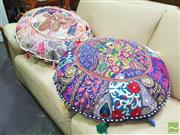 Sale 8447 - Lot 1085 - Pair of Turkish Ottomans