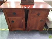 Sale 8495F - Lot 1080 - Pair of Bedsides