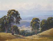 Sale 8582 - Lot 2011 - Henry Dunne (1931 - ) - Southern Coast Line, Berry Heights 1989 39 x 49cm