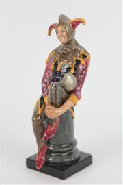 Sale 8654 - Lot 21 - Royal Doulton Figure Of The Jester