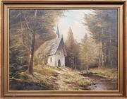 Sale 8961 - Lot 2082 - M. Schmidtler, In the Woods, Oil, SLR 59x78.5cm