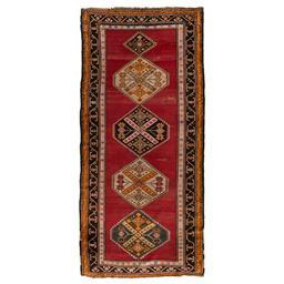 Sale 9090C - Lot 12 - Antique Caucasian Shirvan, C1940, 140X305cm, Handspun Wool
